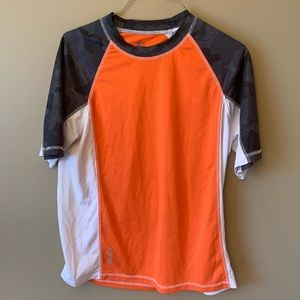 ZeroXposur 50 SPF Rashguard Swim Shirt